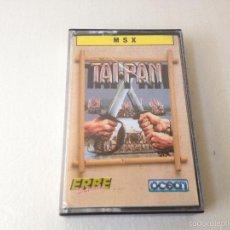 Videojuegos y Consolas: TAI PAN MSX/JUEGO PARA ORDENADOR MSX TAI-PAN/TAIPAN. Lote 59882251