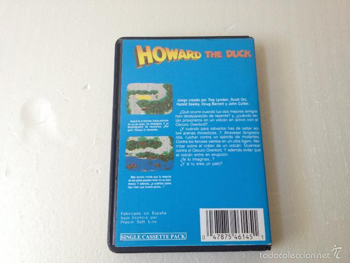 Videojuegos y Consolas: Howard el pato msx con instrucciones/juego para ordenador howard the duck - Foto 2 - 59882511