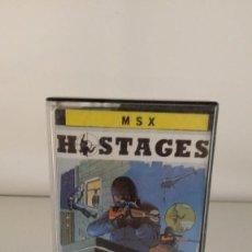 Videojuegos y Consolas: JUEGO MSX CASSETTE - HOSTAGES. Lote 61364751