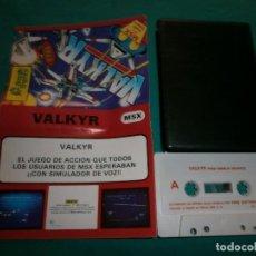Videojuegos y Consolas: JUEGO MSX VALKYR. Lote 63562856