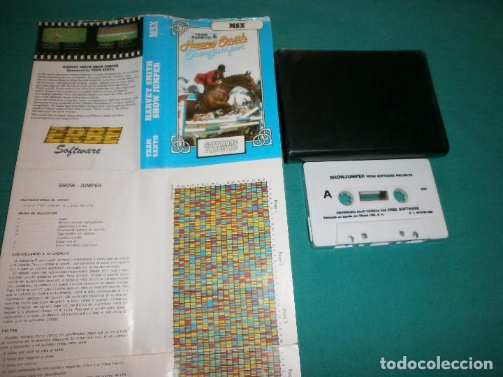 JUEGO MSX HARVEY SMITH SHOW JUMPER (Juguetes - Videojuegos y Consolas - Msx)