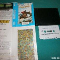 Videojuegos y Consolas: JUEGO MSX HARVEY SMITH SHOW JUMPER. Lote 63563252