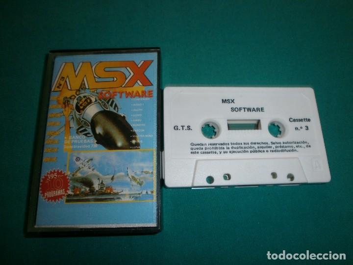 JUEGO MSX Nº3 (Juguetes - Videojuegos y Consolas - Msx)