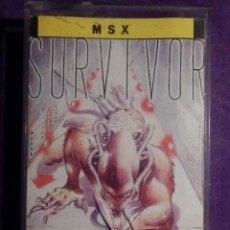 Videojuegos y Consolas: JUEGO MSX Y COMPATIBLES - SURVIVOR - TOPO SOFT - 1987 -. Lote 64117463