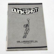 Videojuegos y Consolas: MANUAL DE INSTRUCCIONES ORIGINAL DEL CARTUCHO DEL JUEGO DUNK SHOT DE HAL LABORATORY PARA MSX. Lote 64155251