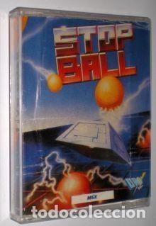 STOP BALL [JULIET SOFTWARE] 1987 DRO SOFT [MSX] (Juguetes - Videojuegos y Consolas - Msx)