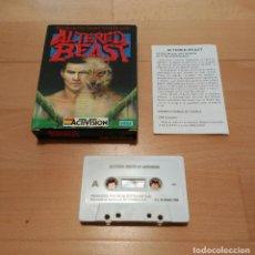 Videojuegos y Consolas: JUEGO MSX MSX2 ALTERED BEAST ACTIVISION MCM 1989 CAJA CARTON BUEN ESTADO. Lote 68814061
