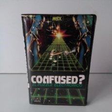 Videojuegos y Consolas: CONFUSED? EL PUZZLE ELECTRÓNICO PARA MSX. Lote 72125183