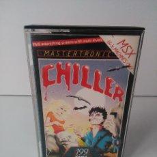 Videojuegos y Consolas: CHILLER PARA MSX CINTA CASETTE. Lote 72139123