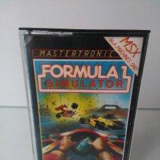 Videojuegos y Consolas: FORMULA 1 SIMULATOR PARA MSX CINTA CASETTE. Lote 72139455