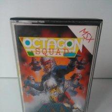 Videojuegos y Consolas: OCTAGON SQUAD PARA MSX CINTA CASETTE. Lote 72139967