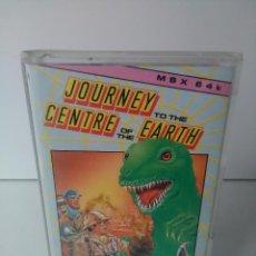 Videojuegos y Consolas: JOURNEY TO THE CENTRE OF THE EARTH (VIAJE AL CENTRO DE LA TIERRA) PARA MSX CINTA CASETTE. Lote 72143891