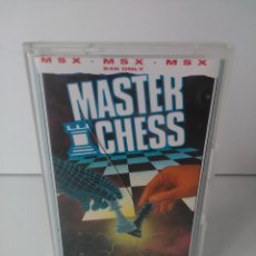 Videojuegos y Consolas: MASTER CHESS PARA MSX CINTA CASETTE. Lote 72144199