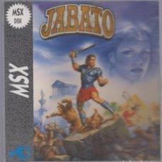 Videojuegos y Consolas: JABATO VIDEOJUEGO MSX MSX 2 DISCO 1989 DINAMIC. Lote 74748423