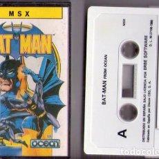 Videojuegos y Consolas: BAT-MAN *** JUEGO MSX *** AÑO 1986. Lote 75900579