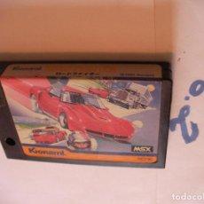 Videojuegos y Consolas: ANTIGUO JUEGO MSX ROAD FIGHTER DE KONAMI. Lote 75923103