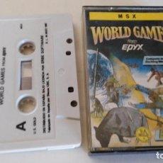 Videojuegos y Consolas: WORLD GAMES. Lote 76272547