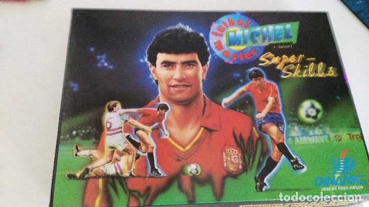 MSX FUTBOL MASTER MICHEL VERSION ESPAÑOLA (Juguetes - Videojuegos y Consolas - Msx)