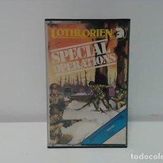 Videojuegos y Consolas: SPECIAL OPERATIONS PARA MSX DE LOTHLORIEN CINTA CASETTE. Lote 77723661