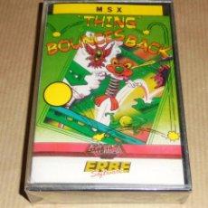 Videojuegos y Consolas: THING BOUNCES BACK - JUEGO MSX - PRECINTADO. Lote 103034091