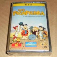 Videojuegos y Consolas: LOS PICAPIEDRA - JUEGO MSX - PRECINTADO. Lote 78174157