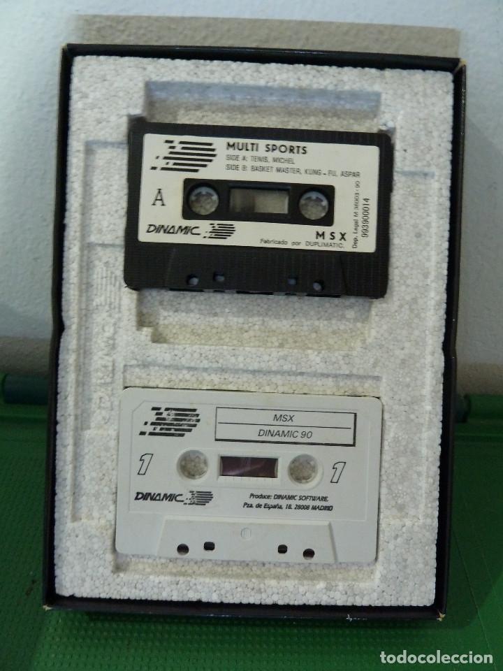 Videojuegos y Consolas: COLECCION DINAMIC 90 PARA MSX - Foto 5 - 79876549