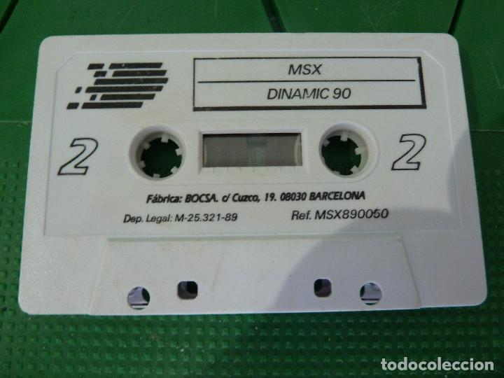 Videojuegos y Consolas: COLECCION DINAMIC 90 PARA MSX - Foto 6 - 79876549