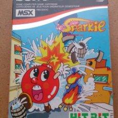 Videojuegos y Consolas: JUEGO MSX HIT BIT SPARKIE 1983 KONAMI. Lote 79907701