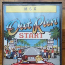 Videojuegos y Consolas: JUEGO CINTA CASSETTE PARA MSX OUT RUN. Lote 81703732