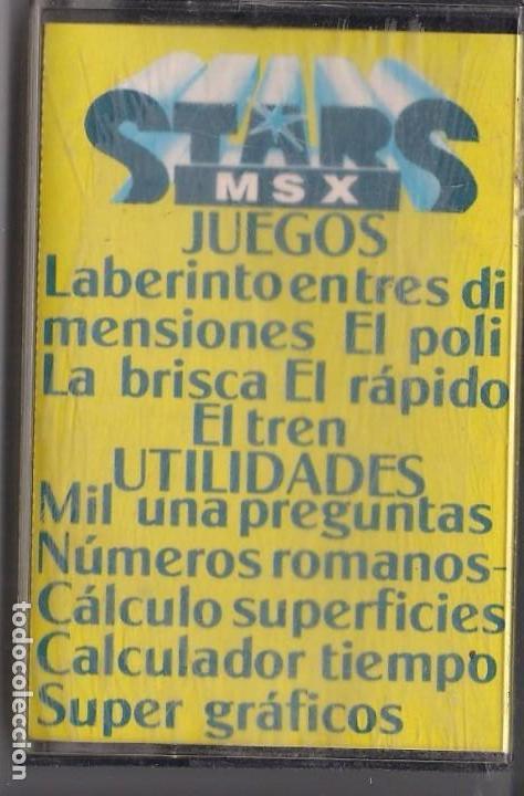 STARS MSX EXTRA DE NAVIDAD (Juguetes - Videojuegos y Consolas - Msx)