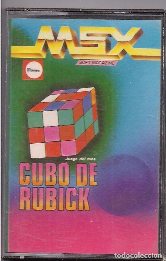 CUBO DE RUBICK (Juguetes - Videojuegos y Consolas - Msx)