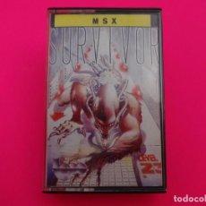 Videojuegos y Consolas: SURVIVOR MSX. Lote 86762352