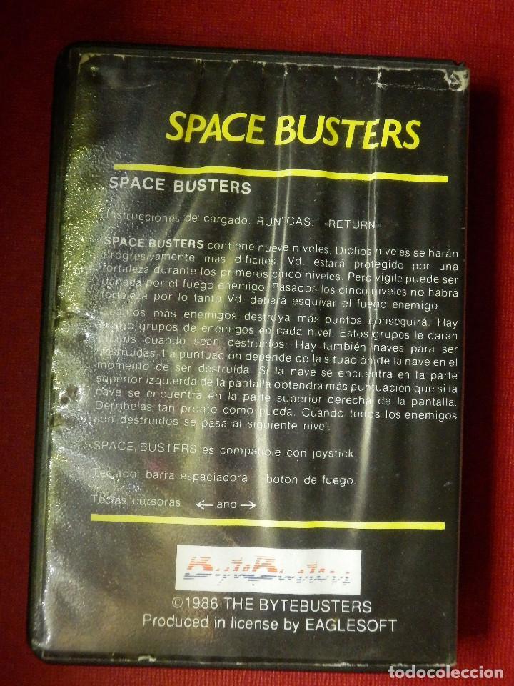 Videojuegos y Consolas: JUEGO PARA MSX Y COMPATIBLES - SPACE BUSTERS - AACKOSOFT - - Foto 3 - 88933516