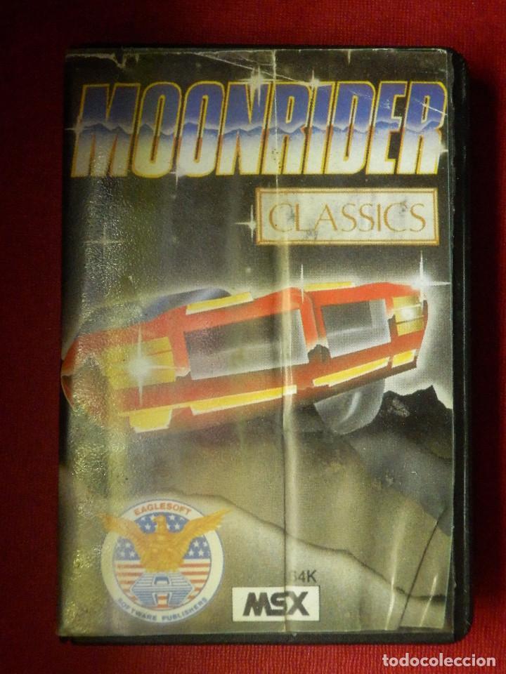 JUEGO PARA MSX Y COMPATIBLES - MOONRIDER - AACKOSOFT - (Juguetes - Videojuegos y Consolas - Msx)