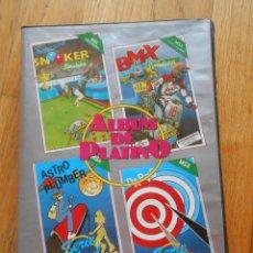 Videojuegos y Consolas: ALBUM DE PLATINO, MSX, 4 JUEGOS. Lote 89391308