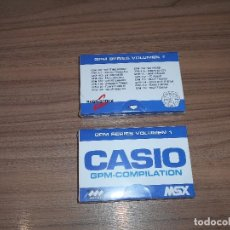 Videojuegos y Consolas: CARTUCHO MSX MSX2 16 JUEGOS CASIO KONAMI ZEXAS LIMITED - VOLGUARD - SKI COMMAND - FLAPPY LIMITED ETC. Lote 143823316