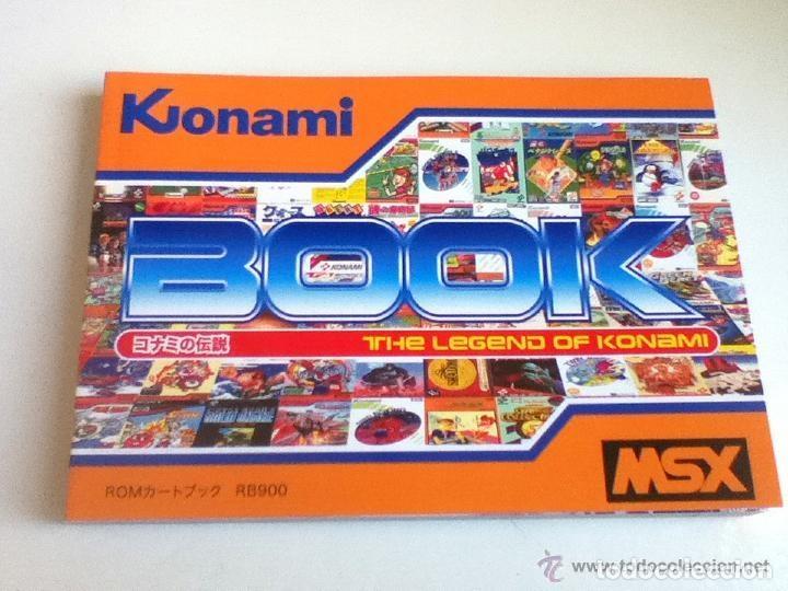 Videojuegos y Consolas: MSX MSX2 Libro a Todo Color 236 Pag. BOOK Historia de KONAMI Vampire Killer METAL GEAR etc... NUEVO - Foto 13 - 256100375