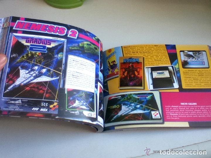Videojuegos y Consolas: MSX MSX2 Libro a Todo Color 236 Pag. BOOK Historia de KONAMI Vampire Killer METAL GEAR etc... NUEVO - Foto 16 - 256100375