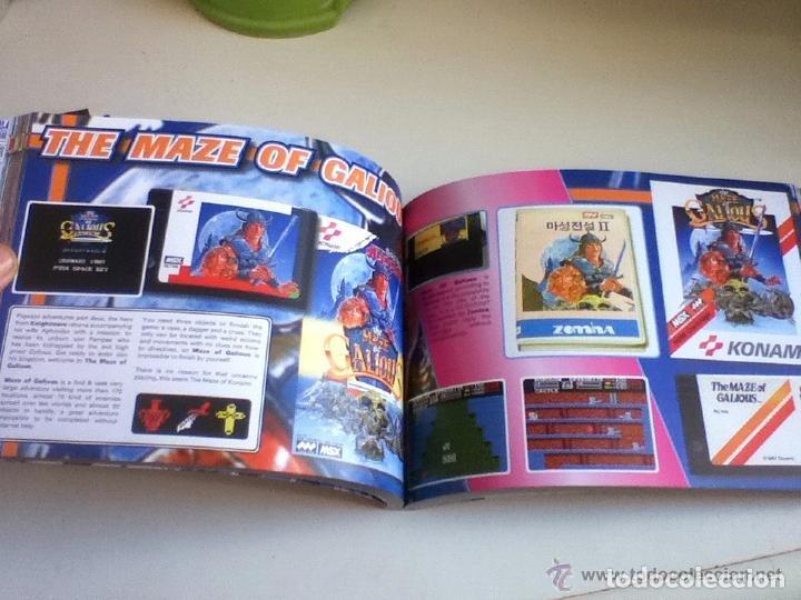 Videojuegos y Consolas: MSX MSX2 Libro a Todo Color 236 Pag. BOOK Historia de KONAMI Vampire Killer METAL GEAR etc... NUEVO - Foto 18 - 256100375
