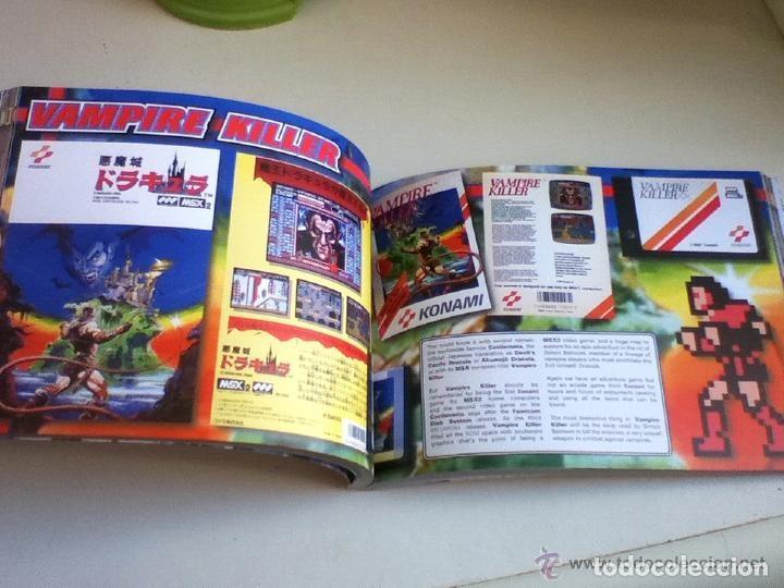Videojuegos y Consolas: MSX MSX2 Libro a Todo Color 236 Pag. BOOK Historia de KONAMI Vampire Killer METAL GEAR etc... NUEVO - Foto 19 - 256100375