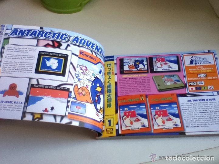 Videojuegos y Consolas: MSX MSX2 Libro a Todo Color 236 Pag. BOOK Historia de KONAMI Vampire Killer METAL GEAR etc... NUEVO - Foto 22 - 256100375