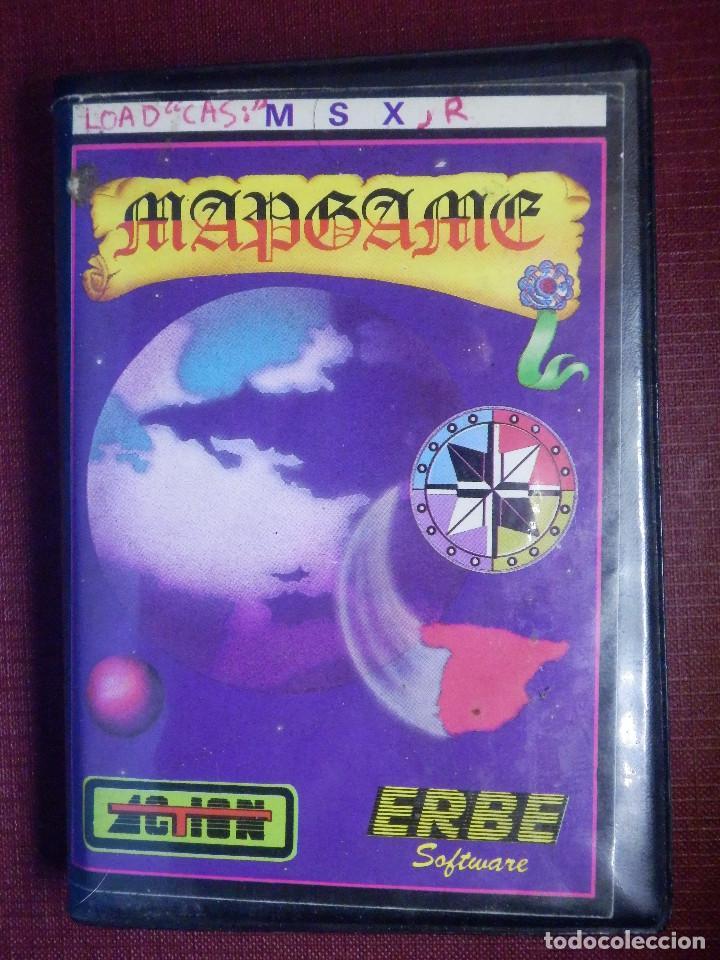 JUEGO MSX Y COMPATIBLES - MAP GAME - ERBE - 1986 (Juguetes - Videojuegos y Consolas - Msx)