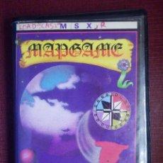 Videojuegos y Consolas: JUEGO MSX Y COMPATIBLES - MAP GAME - ERBE - 1986. Lote 92165725