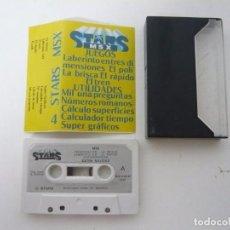 Videojuegos y Consolas: STARS MSX / JUEGO PARA MSX / CASSETTE / CINTA. Lote 92698620