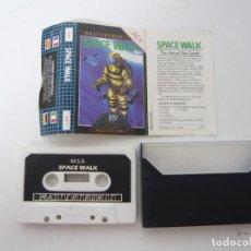 Videojuegos y Consolas: SPACE WALK / JUEGO PARA MSX / CASSETTE / CINTA. Lote 92698765