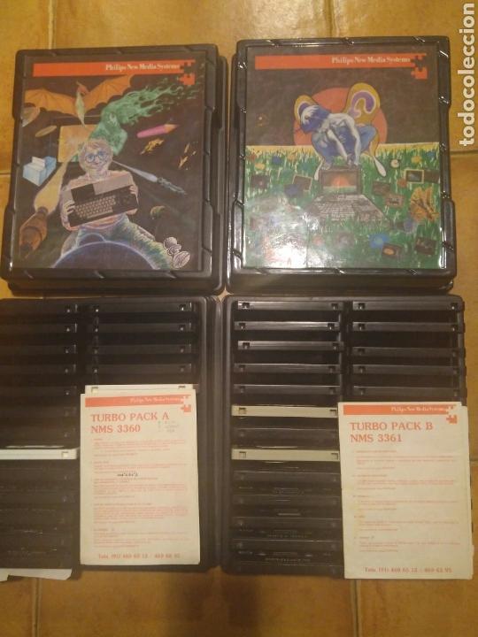 TURBO PACK A & B DE PHILIPS PARA MSX- PARA COLECCIONISTAS (Juguetes - Videojuegos y Consolas - Msx)