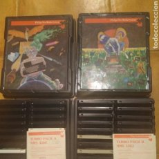 Videojuegos y Consolas: TURBO PACK A & B DE PHILIPS PARA MSX- PARA COLECCIONISTAS. Lote 93623419