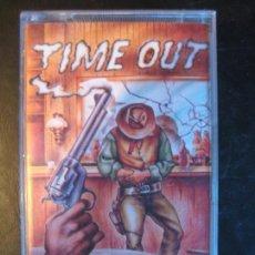 Videojuegos y Consolas: VIDEOJUEGO MSX - TIME OUT - JUEGO ORDENADOR VAQUEROS - ZAFIRO MEGARARO. Lote 93840160