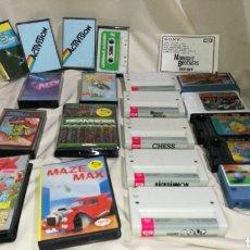 Videojuegos y Consolas: GRAN LOTE DE JUEGOS MSX CARTUCHO Y CINTA CASSETTE . Lote 94281465