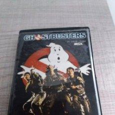Videojuegos y Consolas: CAZAFANTASMAS JUEGO GHOSTBUSTERS ACTIVISION (1985) MSX VINTAGE . CASETTE. Lote 95607455